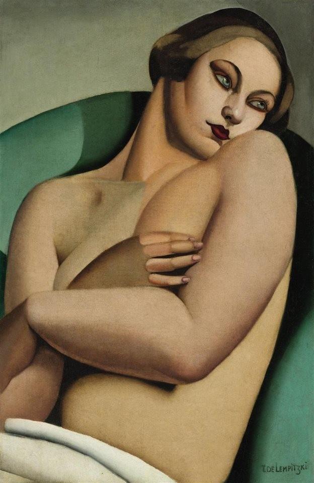Reclining Nude I, 1925 Tamara de Lempicka